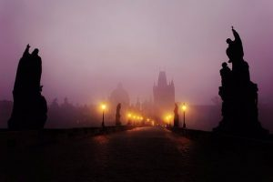The ghost child of Charles Bridge Legend