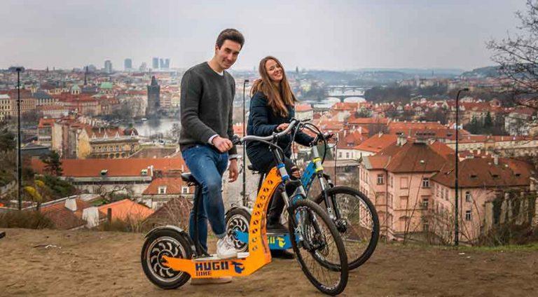 Grande tour of Prague