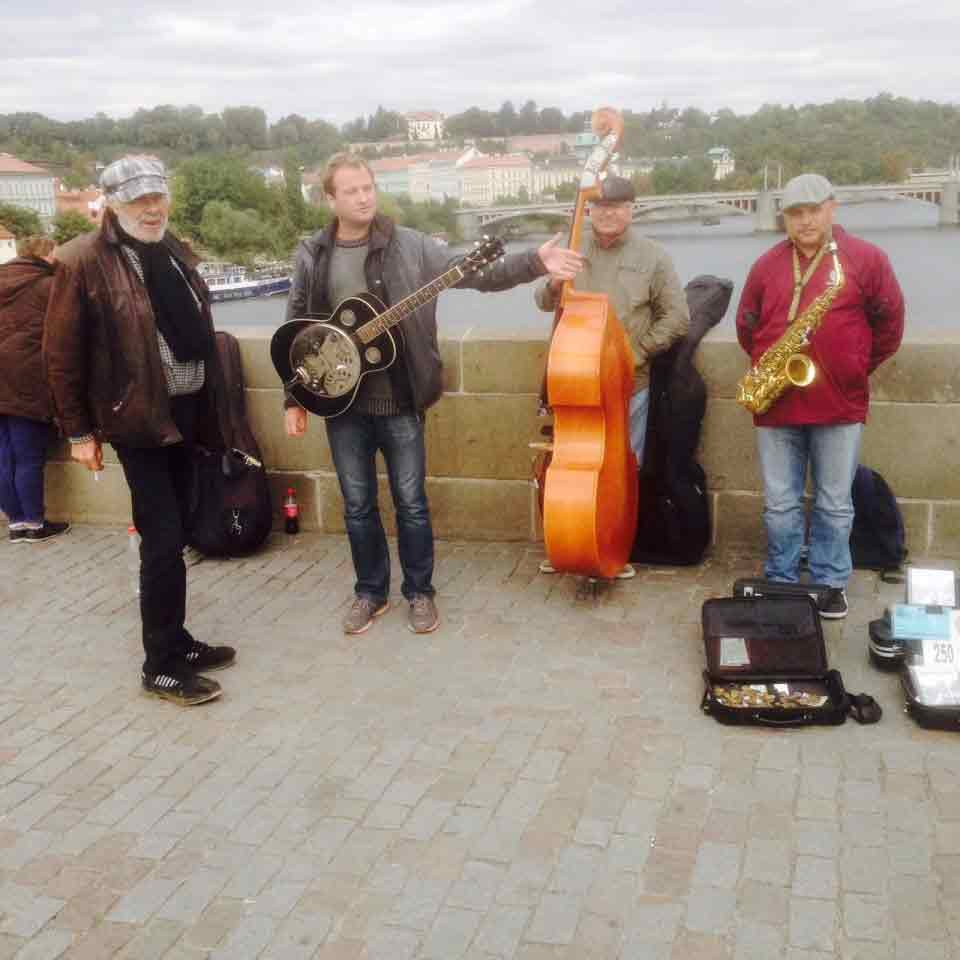 The Street Performers of Prague