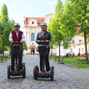 Brevnov Monastery on segway tour route