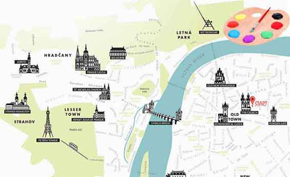 Design your tour in Prague
