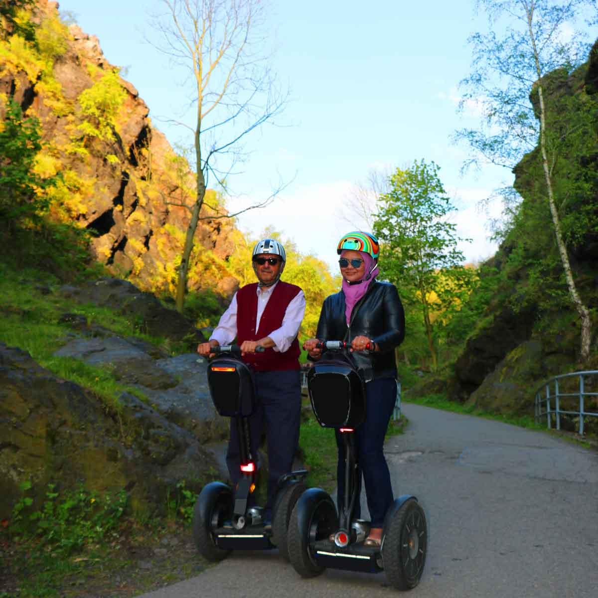 Prague canyons segway tour