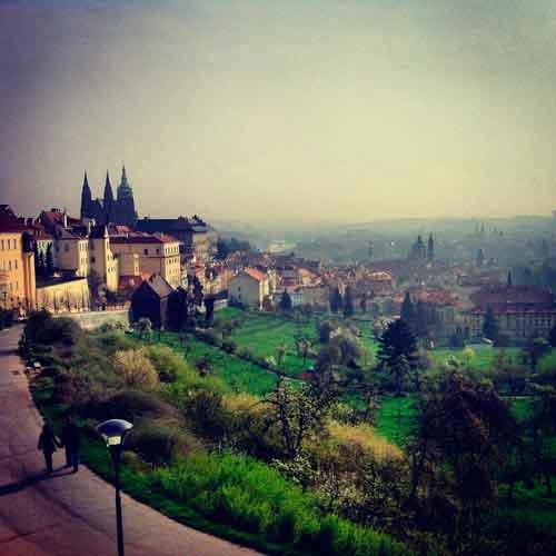 Strahov Monastery viewpoint